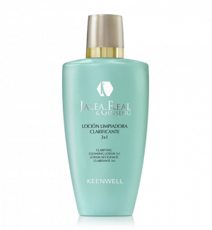 Keenwell - ROYAL JELLY & GINSENG - Почистващ Лосион 3х1 с мицеларна вода - CLARIFYING CLEANSING LOTION 3x1 250 ml.