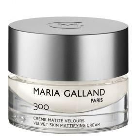 MARIA GALLAND  300 Velvet Mattifying Cream -  Матиращ крем за копринена кожа .