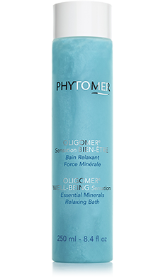 Phytomer - OLIGOMER WELL-BEING Remineralizing Relaxing Bath  - Реминерализираща релаксираща пяна за вана.  250 ml
