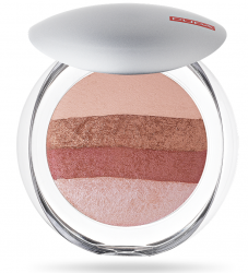 Pupa -  Luminys baked all over - Illuminating blush-powder. - Пудра-  руж  хайлайтър за лице.
