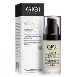 GIGI - RETIN A  -  REJUVINTIM LIGHTENING GEL Режувентим гел за ежедневна употреба . 30 ml