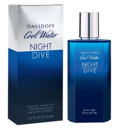 Davidoff - Cool Water Night Dive. Eau De Toilette за мъже.