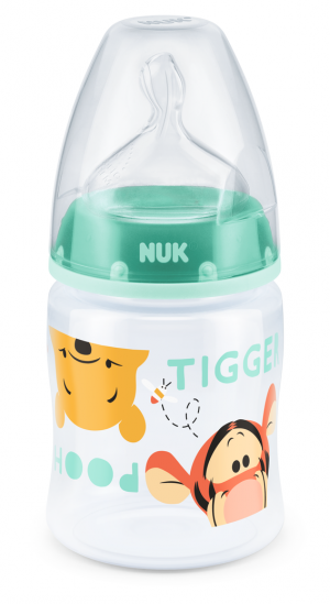 NUK - First Choice РР шише 150 мл. силикон , 0-6 мес., р-р М -  DISNEY.