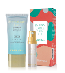 Keenwell - Комплект  - INNOCENCE - IMPECCABLE SKIN KIT. ЕЕ крем + серум против бръчки.