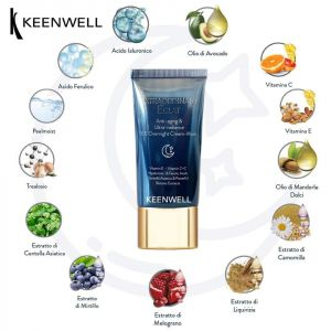 Keenwell - ANTI-AGING & ULTRA RADIANCE EE OVERNIGHT CREAM-MASK  - Регенерираща нощна  крем- маска  . 40 ml