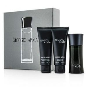 Giorgio Armani - Armani Code  pour Homme  EDT 50 ml + Shower gel 75 ml  + ASBalsam 75 ml  - Подаръчен комплект  за мъже.