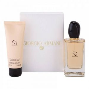 Giorgio Armani - Armani Si  Set  EDP 100 ml &  Body lotion  75 ml - Подаръчен комплект  за жени.