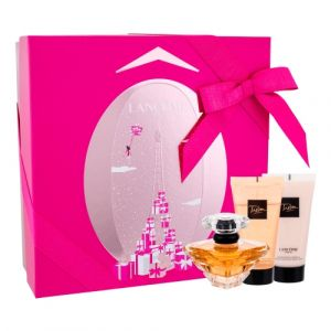 Lancome -Tresor Set. Eau De Parfum 50 ml+ Body lotion 50 ml + Shower gel 50 ml. - Подаръчен комплект за жени