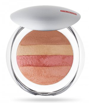 Pupa  - Luminys baked all over - Illuminating blush-powder  - Пудра , руж., хайлайтър за лице.