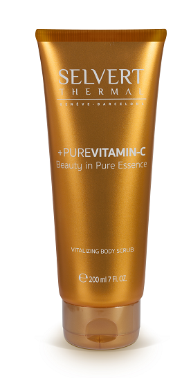 Selvert Thermal - +PURE VITAMIN C - Vitalizing Body Scrub -  Нежен скраб за тяло. 200 ml