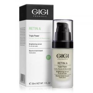 GIGI - RETIN A  -  BRIGHTENING SERUM Серум сияние  . 30 ml