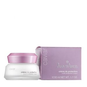 Jean d`Arcel - CAVIAR -  Multi protection rich 24h cream -  Защитен 24 ч. богат дневен крем. 50 ml