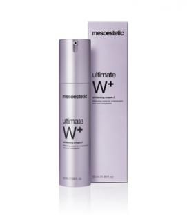 Mesoestetic -  ultimate W+ whitening cream  - Крем с избелващ ефект.  50 ml