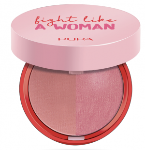 Pupa -  FIGHT LIKE A WOMAN EXTREME BLUSH DUO - Компактен двоен руж.