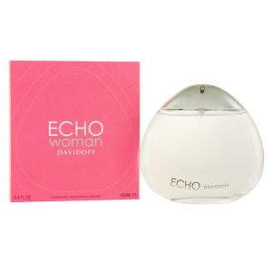 Davidoff - Echo Women. Deodorant Spray in Glass Bottle.