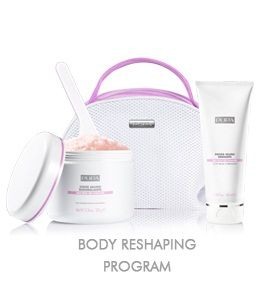 Pupa - Комплект за тяло ROSA - Body wellness program SALT SCRUB 350G + SALT SHOWER 100ML.
