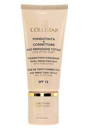 "Collistar - Фон дьо+ коректор ""Total Perfection duo"" - FOUNDATION+CONCEALER TOTAL PERFECTION DUO SPF 15. 30ml"