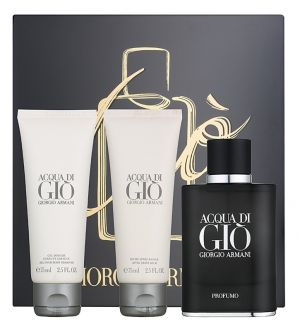 Giorgio Armani - Acqua di Giо Profumo  Set  -EDP 75 ml+ Shower Gel 75 ml+ After Shave Balm 75ml. Комплект   за мъже.