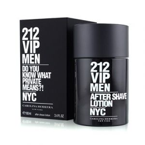 Carolina Herrera - 212 VIP men  After shave lotion.  Афтършейв за  мъже. 100 ml