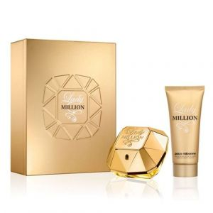 Paco Rabanne - LADY MILLION  Gift Set  EDP & Body Lotion.Подаръчен  комплект за жени.