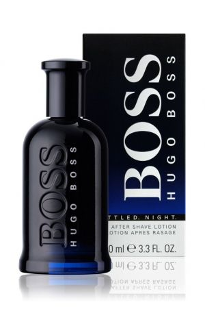 Hugo Boss - Boss Bottled Night. After Shave Lotion. Афтършейв