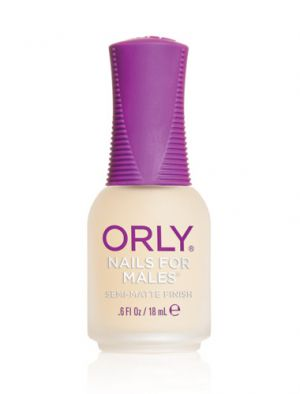 Orly -  Матов лак за мъже  NAILS FOR MALES®. 18 ml.