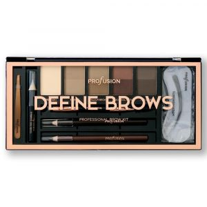 Profusion - палитра DEFINE BROWS за вежди 15 части